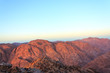 Sinai mountains in the morning horizontal - 76441457