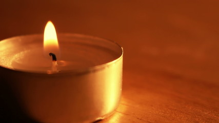candlelight shivering