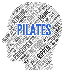 Pilates | Konzept Word Cloud