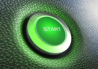 Grüner Start-Button