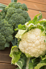 Cauliflower & Broccoli