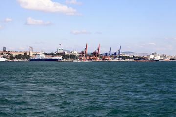 Skyline of Bosphorus