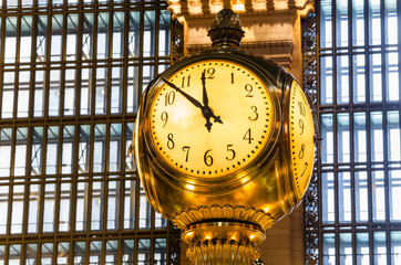 Grand Central Terminal Clock, New York