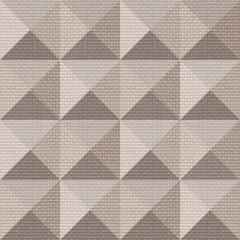 Abstract paneling pattern - seamless background - pyramidal