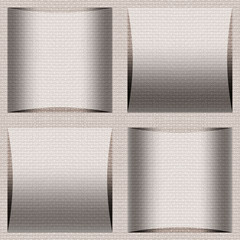Abstract paneling pattern - seamless background - cloth texture