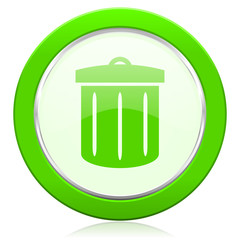 recycle icon recycle bin sign
