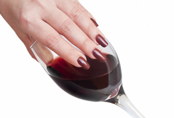 Marsala nail polish inspired From the hues of red wine
