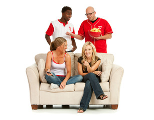 Fans: Men Annoyed Women Are On Couch