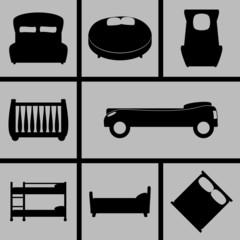 Beds Icons