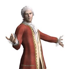 18th Century Man Welcomes You