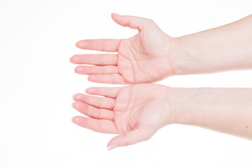 handzeichen   - sich ergeben