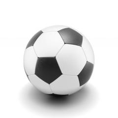 Soccer ball isolate on white