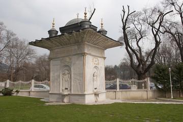 Fountain in Kucuksu Palace