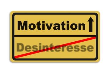 Motivation - Desinteresse