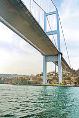 Under the First Bosphorus Bridge
