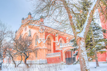 Peterhof Russia Imperial stables winter
