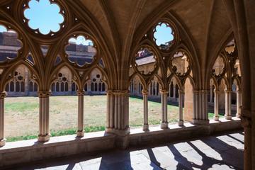 Monastery courtyard, gothic
