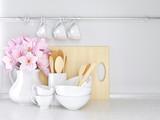 Wooden and ceramic utensils. - 76450233