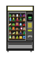 Vending Machine in Black color