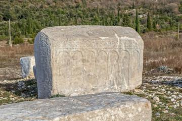 Stecak medieval tombstone