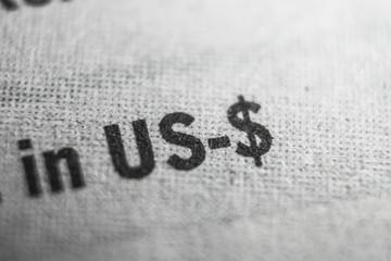 US Dollar Macro Concept