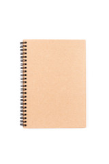 Brown eco notebook