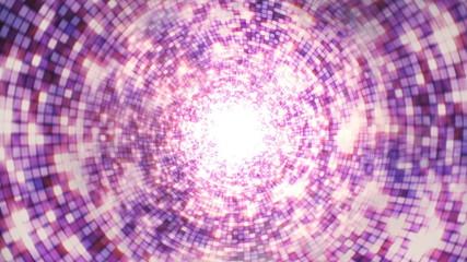 Disco Dance Background Tunnel