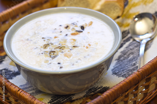 Chicken and Wild Rice Soup - 76454239
