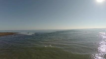 Maine Aerial Beach