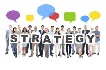 Strategy Business People Team Teamwork Success Strategy Concept