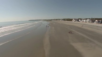 Maine Aerial York Beach