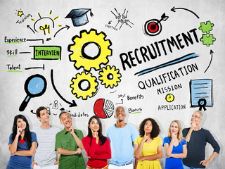 Ethnicity Peolple Imagination Recruitment Ideas Concept