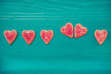 Valentines day, hearts