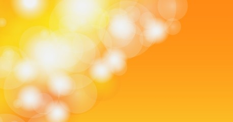 Abstract blur bokeh orange.