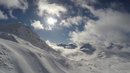 France Alpine Alps mountain landscape