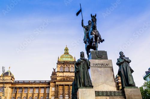 Fototapeta Wenceslas Square in Prague