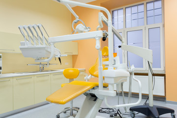 Modern equipped dental office