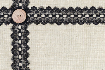 Fabric border textile
