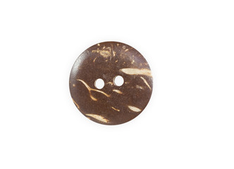 Wooden sewing button