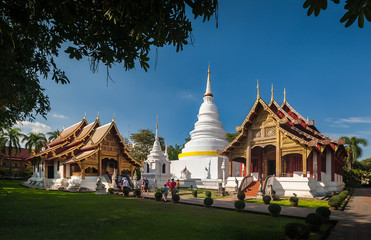 Wat Phra Sing Temple of Chiang Mai Thailand