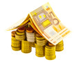 concept investissement projet immobilier