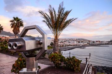 View of Playa de Fanabe Adeje Tenerife
