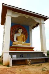 Статуя сидячего Будды