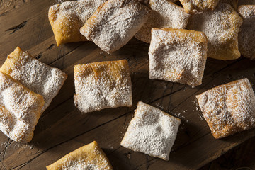 Homemade Powder Sugar Beignets
