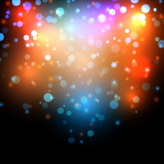 Abstract bokeh effect background