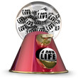 canvas print picture - A New Life Gumball Machine Start Over Begin Again Fresh Opportun