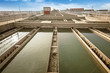 Modern urban wastewater treatment plant. - 76459852