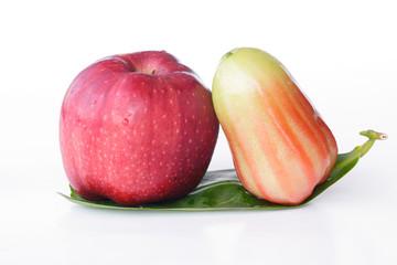 Apple & Rose Apple - Stock Image