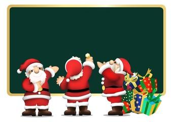 サンタとメッセージ