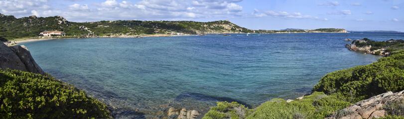 Saredegna, Isola La Maddalena: Baia dellaSpiaggia Monte d'Arena
